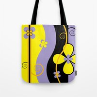 blossom Tote Bags featuring Blossom by Graphic Tabby