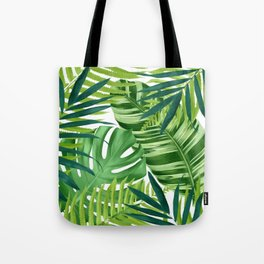 Tropical leaves III Tote Bag