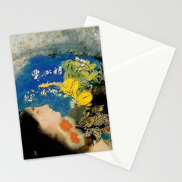 "Odilon Redon ""Ophelia"" Stationery Cards"