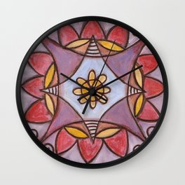 Connected in Spirit Wall Clock