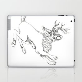 Jackalope Hopping Doodle Art Laptop & iPad Skin