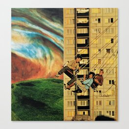 wings spanning seven feet Canvas Print
