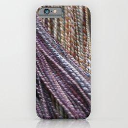 Handspun Yarn iPhone Case