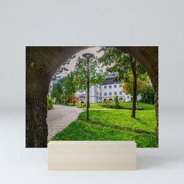 Schloss Grosslaupheim - Baden-Württemberg Mini Art Print