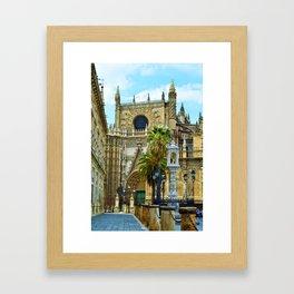 Sevilla Cathedral Framed Art Print