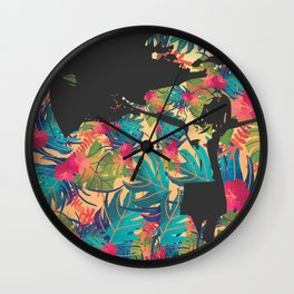 Para ser feliz Wall Clock
