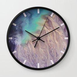 Colour Storm Illusion Wall Clock