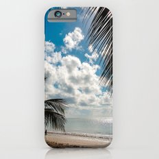 Couple at the beach Slim Case iPhone 6s