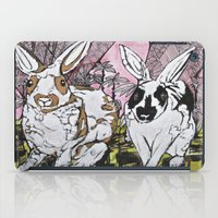 bunny iPad Cases featuring Bunny by Dawn Patel Art