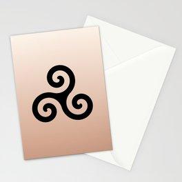 Triskele 7 -triskelion,triquètre,triscèle,spiral,celtic,Trisquelión,rotational Stationery Cards