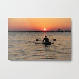 Amazing Sunset II. Sunset series Metal Print