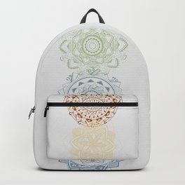 Chakra mandalas Backpack