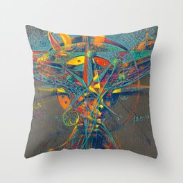 Portrait of a woman - Fantasy Love Throw Pillow