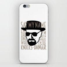 Breaking Bad: Heisenberg iPhone & iPod Skin