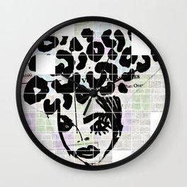 Miss Lola Wall Clock
