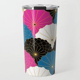Japanese Chrysanthemum 2 Travel Mug