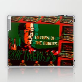 Return Of Computer Love Robots Laptop & iPad Skin