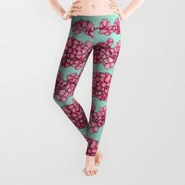 I Love The Flower Girl Leggings