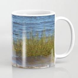 Man Net Casting Coffee Mug