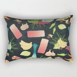 Let's Eat Rectangular Pillow