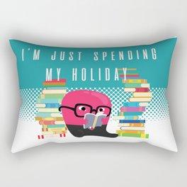Geek Spending Holiday Rectangular Pillow