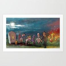Adventure Game Revival Art Print