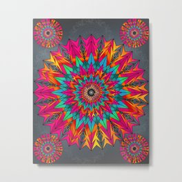 Stunning Mandala Metal Print