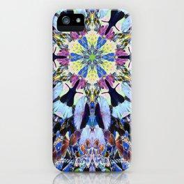 Mandala Gingko Blue iPhone Case
