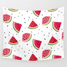 Watermelon slices Wall Tapestry