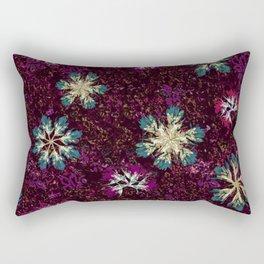 Stary Flowers Rectangular Pillow