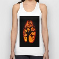 halloween Tank Tops featuring HalloWeen by 2sweet4words Designs