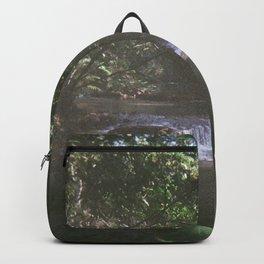 Hidden jungle waterfalls Backpack
