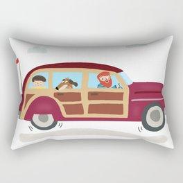 Family Trip Rectangular Pillow