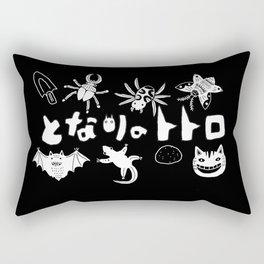 Creepy Creatures Rectangular Pillow