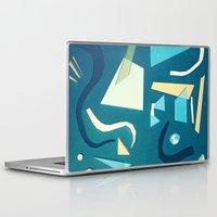 marine Laptop & iPad Skins featuring marine by Carlos Castro Perez