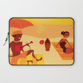 Bossa Red and Green Laptop Sleeve