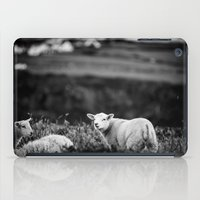 lamb iPad Cases featuring Lamb by BethWold