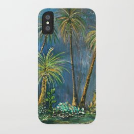 Paradise Palms iPhone Case