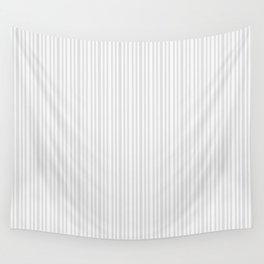 Pastel gray white vintage stylish geometrical stripes Wall Tapestry