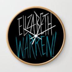 Elizabeth Warren! Wall Clock