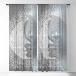 Sun and Moon in One Sheer Curtain