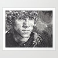 sam winchester Art Prints featuring Sam Winchester by Kristy Fleming