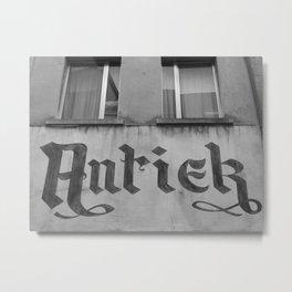 Antiek Sales Metal Print