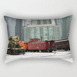 toronto trains Rectangular Pillow