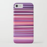 striped iPhone & iPod Cases featuring Striped by Scarlet