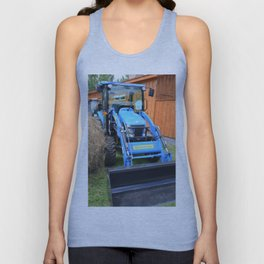 New Holland Workmaster 75 Tractor  2 Unisex Tank Top
