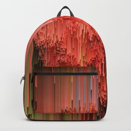 Glitched Flowering Gum Backpack