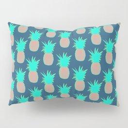 Pineapples (Prussian Blue) Pillow Sham