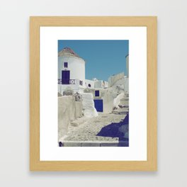 Windmill House Framed Art Print