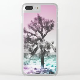 Joshua Tree - Ultraviolet Clear iPhone Case